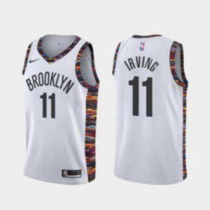 Authentic Brooklyn Nets Kyrie Irving White Jersey